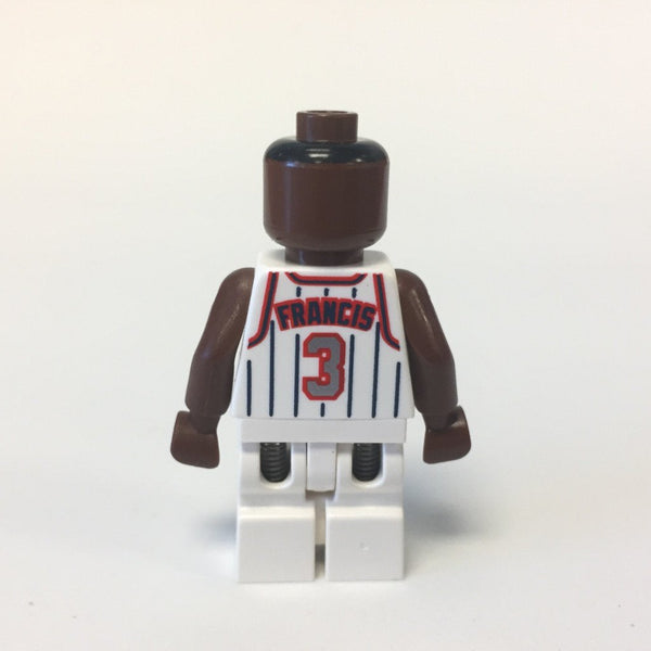 LEGO Minifigure-NBA Steve Francis, Houston Rockets #3-Sports / Basketball-NBA011-Creative Brick Builders