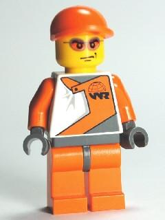 LEGO Minifigure-Official 2-World Racers-WR015-Creative Brick Builders