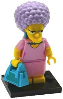 LEGO Minifigure-Patty-Collectible Minifigures / The Simpsons Series 2-COLSIM2-12-Creative Brick Builders