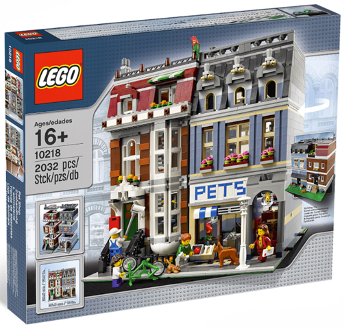 LEGO Set-Pet Shop-Modular Buildings-10218-1-Creative Brick Builders