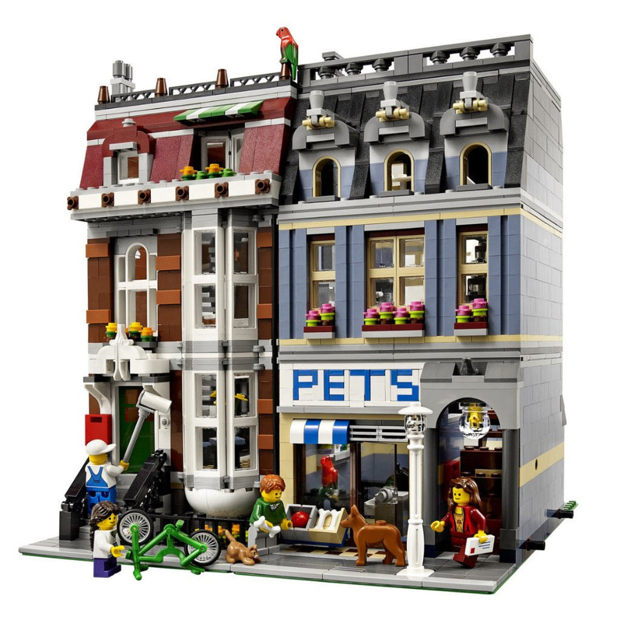 LEGO Set-Pet Shop-Modular Buildings-10218-4-Creative Brick Builders