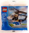 LEGO Set-Police Helicopter (Polybag)-Town / City / Police-30014-1-Creative Brick Builders