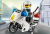 LEGO Set-Police Motorcycle - Black/Green Sticker Version-Town / City / Police-7235-1-Creative Brick Builders
