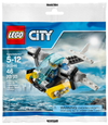 LEGO Set-Prison Island Helicopter (Polybag)-Town / City / Police-30346-1-Creative Brick Builders
