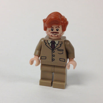 Professor Lupin - Dark Tan Suit