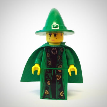 Professor McGonagall, Green Robe and Cape