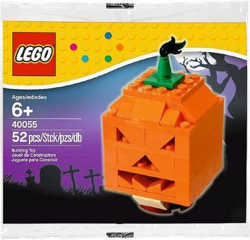 LEGO Set-Pumpkin (Polybag)-Holiday / Halloween-40055-1-Creative Brick Builders