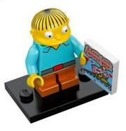 LEGO Minifigure-Ralph Wiggum-Collectible Minifigures / The Simpsons-COLSIM-10-Creative Brick Builders