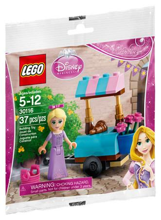 LEGO Set-Rapunzel's Market Visit-Disney Princess-30116-1-Creative Brick Builders