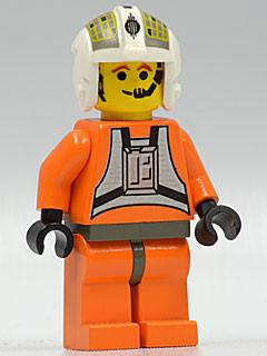LEGO Minifigure-Rebel Pilot Y-wing (Dutch Vander)-Star Wars / Star Wars Episode 4/5/6-SW033-Creative Brick Builders