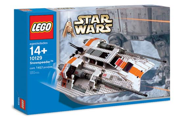 LEGO Set-Rebel Snowspeeder - UCS-Star Wars / Ultimate Collector Series / Star Wars Episode 4/5/6-10129-1-Creative Brick Builders