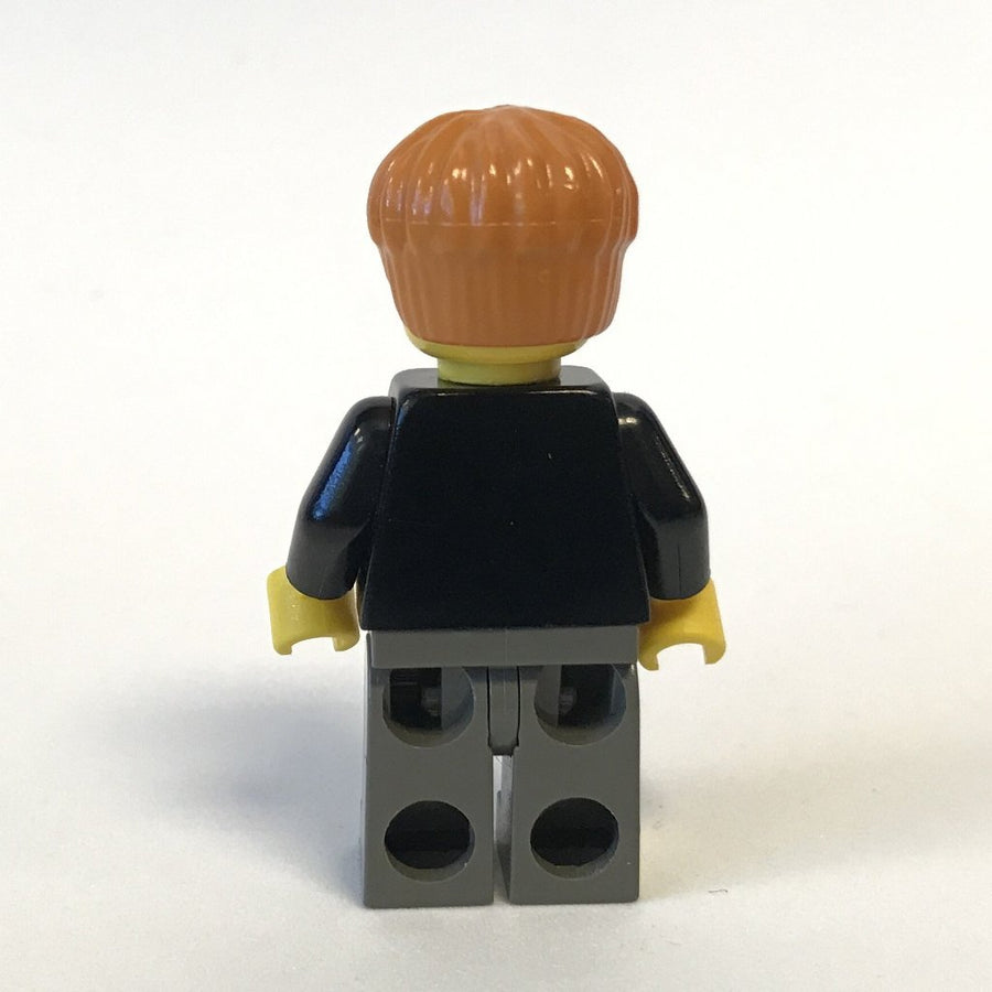 LEGO Minifigure-Ron Weasley, Black and White Plaid Shirt-Harry Potter / Chamber of Secrets-HP032-Creative Brick Builders