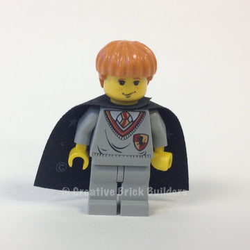 Ron Weasley, Gryffindor Shield Torso, Black Cape with Stars
