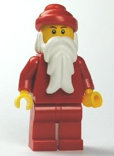 LEGO Minifigure-Santa, Red Legs with Red Hips-Holiday / Christmas-HOL009-Creative Brick Builders
