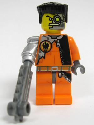 LEGO Minifigure-Saw Fist-Agents-AGT005-Creative Brick Builders