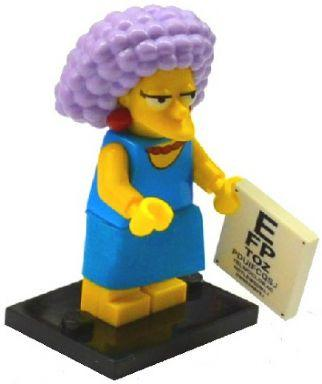 LEGO Minifigure-Selma-Collectible Minifigures / The Simpsons Series 2-COLSIM2-11-Creative Brick Builders