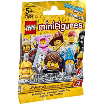 LEGO Minifigure-Series 12-Collectible Series Polybag-71007-1-Creative Brick Builders