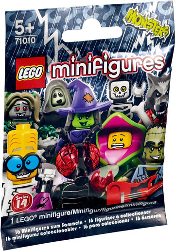 LEGO Minifigure-Series 14-Collectible Series Polybag-71010-1-Creative Brick Builders