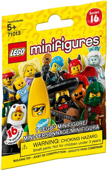 LEGO Minifigure-Series 16-Collectible Series Polybag-71013-1-Creative Brick Builders