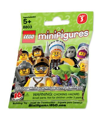 LEGO Minifigure-Series 3-Collectible Series Polybag-8803-1-Creative Brick Builders