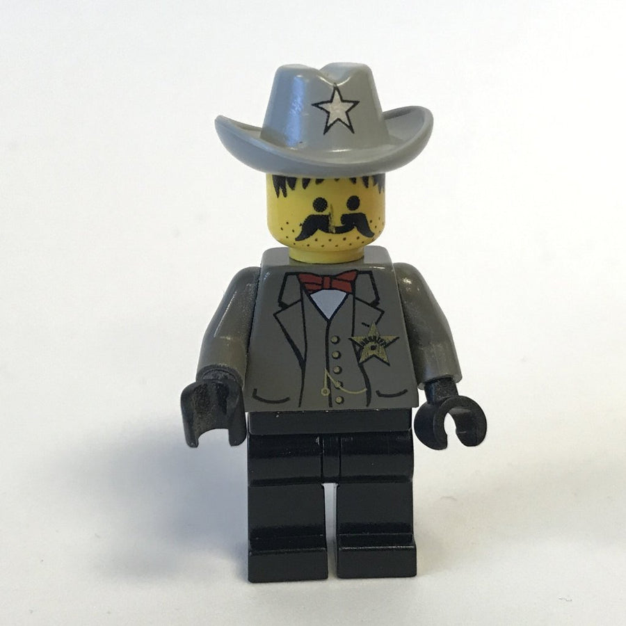 LEGO Minifigure-Sheriff-Western / Cowboys-WW021-Creative Brick Builders