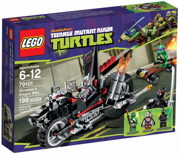 LEGO Set-Shredder's Dragon Bike-Teenage Mutant Ninja Turtles-79101-1-Creative Brick Builders