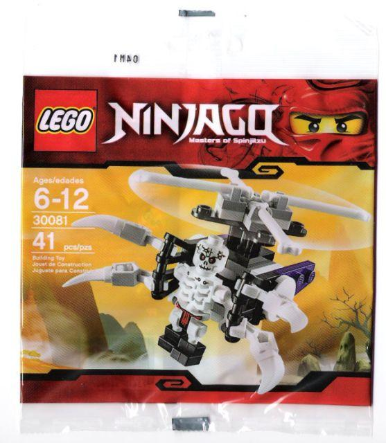 LEGO Set-Skeleton Chopper (Polybag)-Ninjago-30081-1-Creative Brick Builders