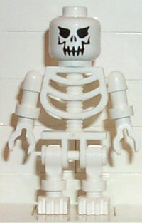 LEGO Minifigure-Skeleton with Evil Skull-(Minifigure: Other)-GEN004-Creative Brick Builders