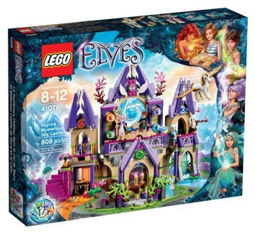 LEGO Set-Skyra's Mysterious Sky Castle-Elves-41078-1-Creative Brick Builders