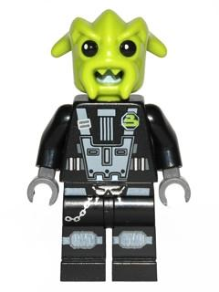 LEGO Minifigure-Space Police 3 Alien - Rench-Space / Space Police III-SP110-Creative Brick Builders