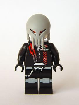 LEGO Minifigure-Space Police 3 Alien - Skull Twin-Space / Space Police III-SP101-Creative Brick Builders
