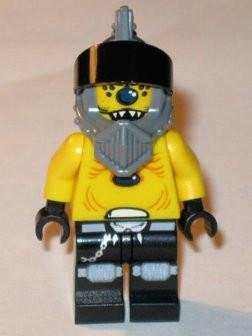LEGO Minifigure-Space Police 3 Alien - Snake with Visor-Space / Space Police III-SP097-Creative Brick Builders