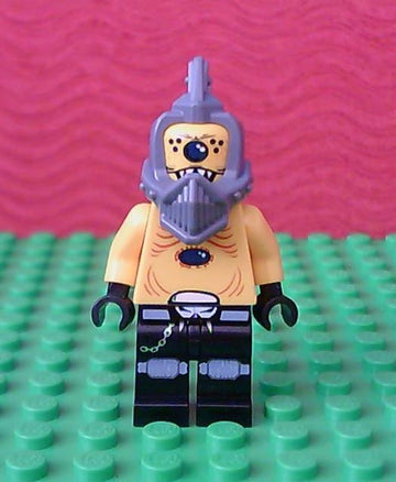 LEGO Minifigure-Space Police 3 Alien - Snake without Visor-Space / Space Police III-SP100-Creative Brick Builders