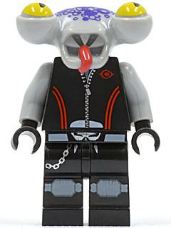 LEGO Minifigure-Space Police 3 Alien - Squidtron-Space / Space Police III-SP111-Creative Brick Builders