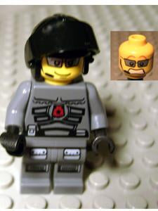 LEGO Minifigure-Space Police 3 Officer 1-Space / Space Police III-SP094-Creative Brick Builders