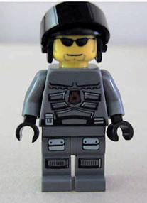 LEGO Minifigure-Space Police 3 Officer 10-Space / Space Police III-SP109-Creative Brick Builders