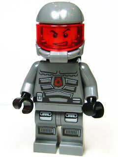 LEGO Minifigure-Space Police 3 Officer 11 - Airtanks-Space / Space Police III-SP112-Creative Brick Builders