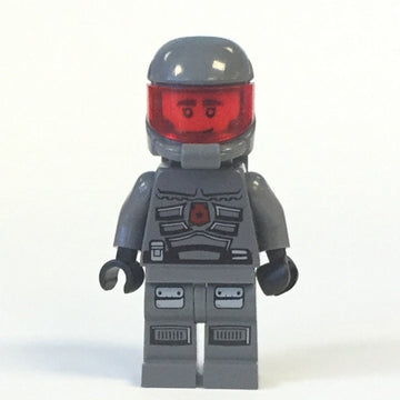 LEGO Minifigure-Space Police 3 Officer 13 - Airtanks (5985)-Space / Space Police III-SP117-Creative Brick Builders