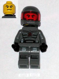 LEGO Minifigure-Space Police 3 Officer 14 - Airtanks-Space / Space Police III-SP118-Creative Brick Builders