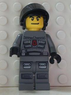LEGO Minifigure-Space Police 3 Officer 6-Space / Space Police III-SP104-Creative Brick Builders
