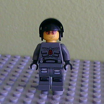 LEGO Minifigure-Space Police 3 Officer 7-Space / Space Police III-SP105-Creative Brick Builders