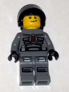 LEGO Minifigure-Space Police 3 Officer 8-Space / Space Police III-SP106-Creative Brick Builders