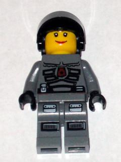 LEGO Minifigure-Space Police 3 Officer 9 - Female-Space / Space Police III-SP107-Creative Brick Builders
