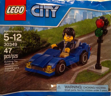 LEGO Set-Sports Car (Polybag)-Town / City / Traffic-30349-1-Creative Brick Builders