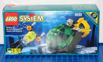 LEGO Set-Spy Shark-Aquazone / Aquasharks-6135-1-Creative Brick Builders