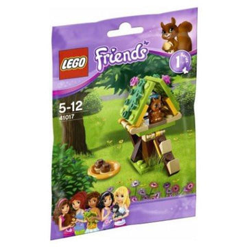 LEGO Set-Squirrel's Tree House (Polybag)-Friends-41017-1-Creative Brick Builders