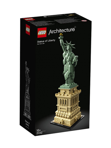 LEGO Set-Statue of Liberty-Architecture-21042-1-Creative Brick Builders