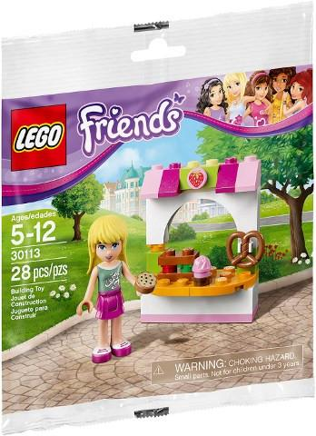LEGO Set-Stephanie's Bakery Stand (Polybag)-Friends-30113-1-Creative Brick Builders