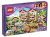 LEGO Set-Summer Riding Camp-Friends-3185-1-Creative Brick Builders