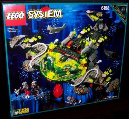 LEGO Set-Super Sub-Aquazone / Aquasharks-1095-1-Creative Brick Builders